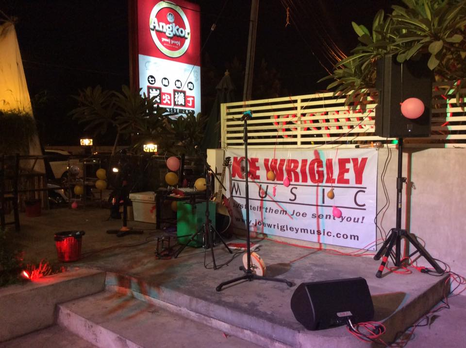 Joe Wrigley Music has been producing live music and entertainment events in Cambodia since 2013